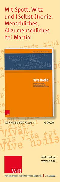 Vive hodie! Martials Epigramme. Kopiervorlagen für die binnendifferenzierte Lektüre